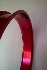 "Alufelge RM100, 26"", rot eloxiert"