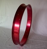 """alloy rim RM80, 26"""", red anodized"""