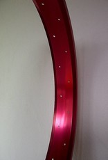 "alloy rim RM65, 26"", red anodized"