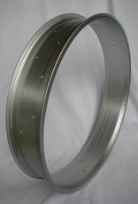 "alloy rim RM100, 24"", silver (matt) anodized"