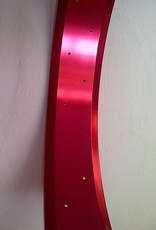 "alloy rim RM100, 24"", red anodized"
