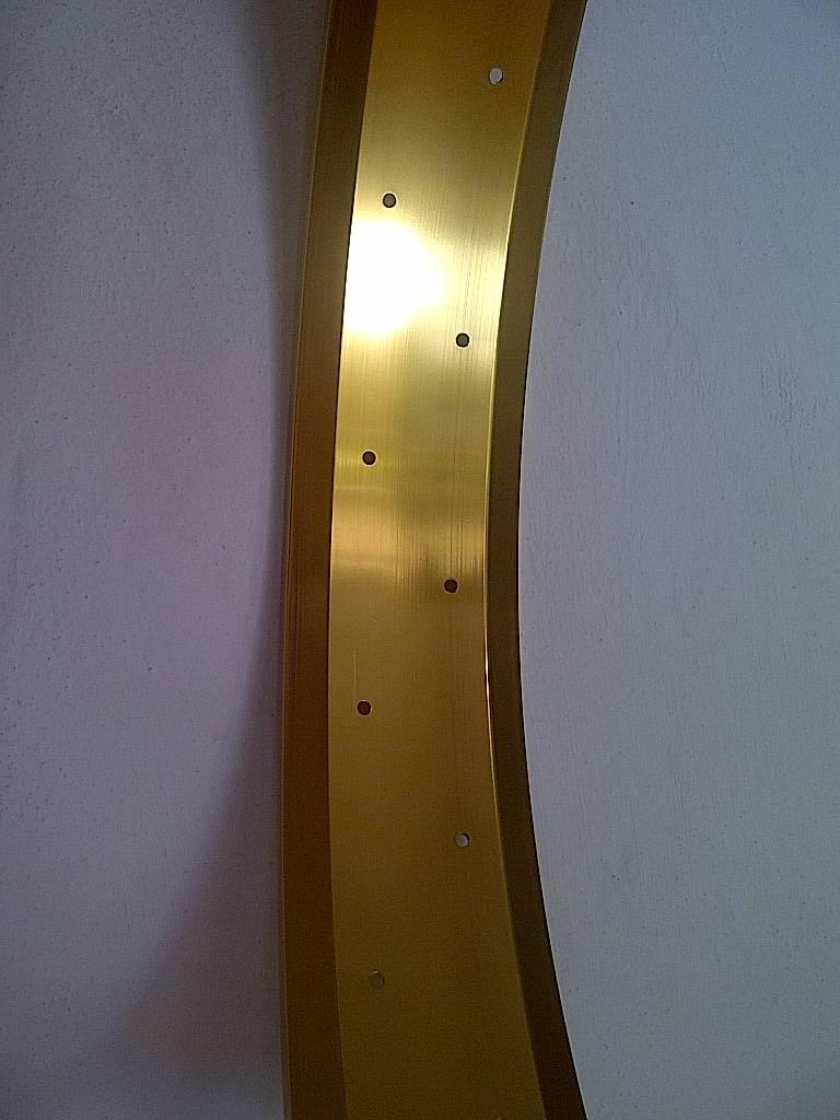 """Alufelge RM80, 24"""", golden eloxiert"""