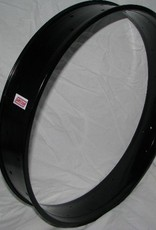 "alloy rim DW100, 26"", black anodized"
