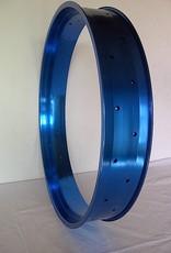 """Alufelge DW100, 26"""", blau eloxiert"""