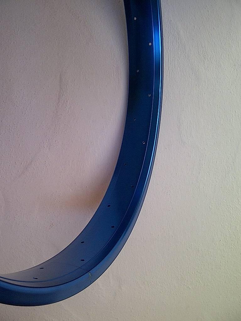 """Alufelge DW65, 26"""", blau eloxiert"""