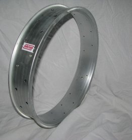 "2nd choice alloy rim DW80, 20"", silver (matt) anodized, with faults"