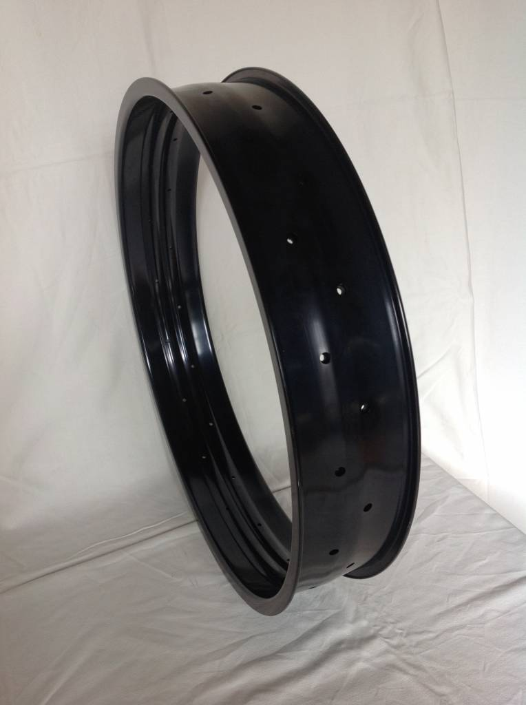 "alloy rim DWW100, 24"", black anodized"