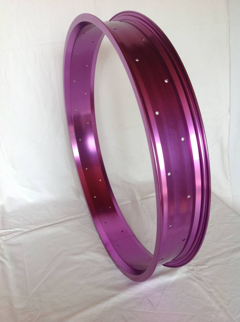 "alloy rim RM80, 24"", purple anodized"
