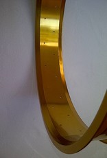 """alloy rim RM80, 26"""", golden anodized, 32h"""