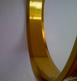 """Alufelge RM80, 26"""", golden eloxiert, 32 Loch"""