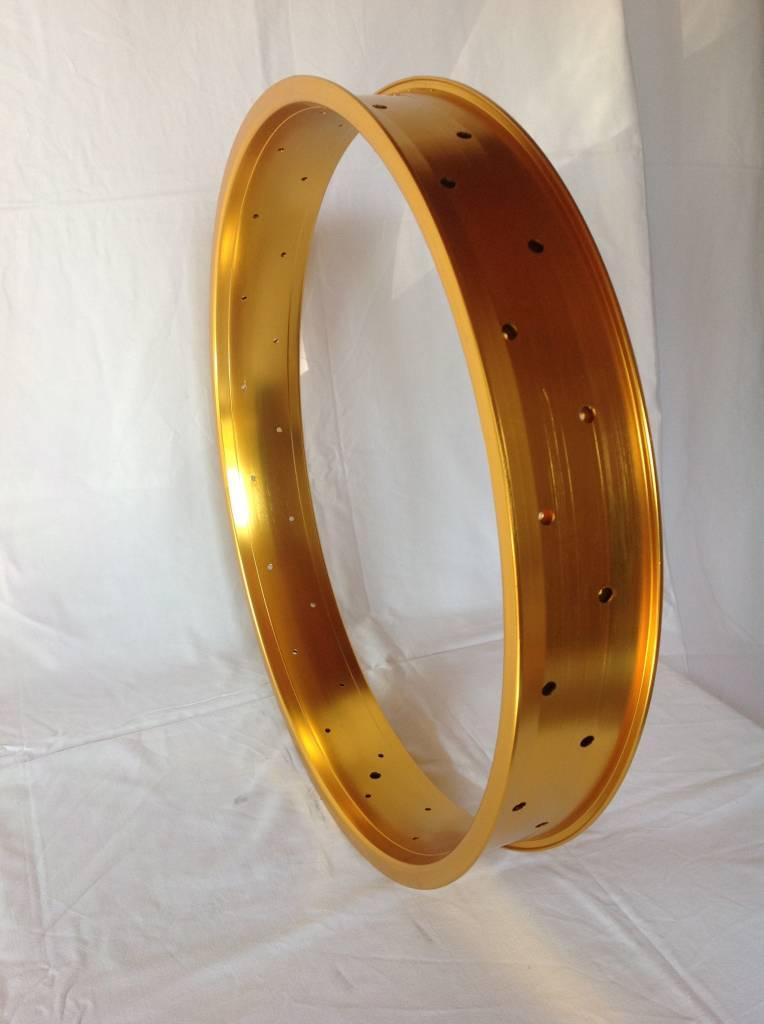 """alloy rim DW80, 24"""", golden anodized"""