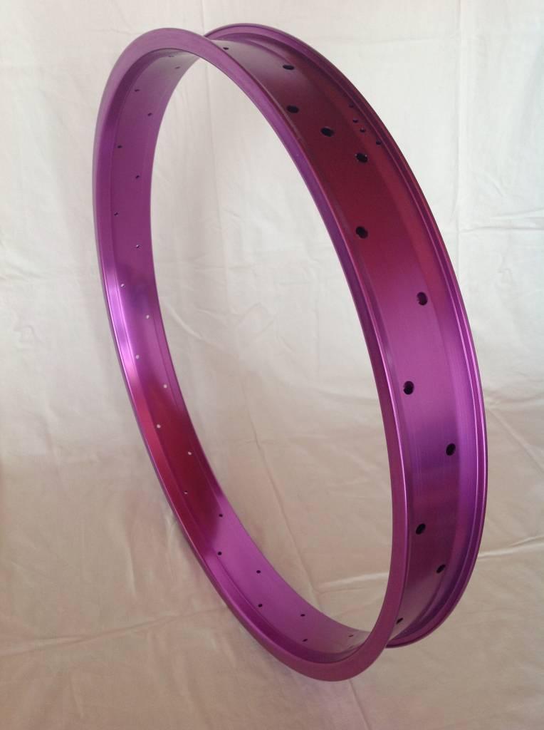 """alloy rim DW65, 26"""", purple anodized"""