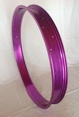 """Alufelge RM65, 26"""", lila eloxiert"""