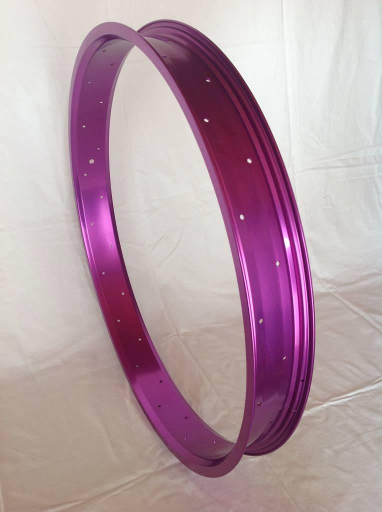 """alloy rim RM65, 26"""", purple anodized"""