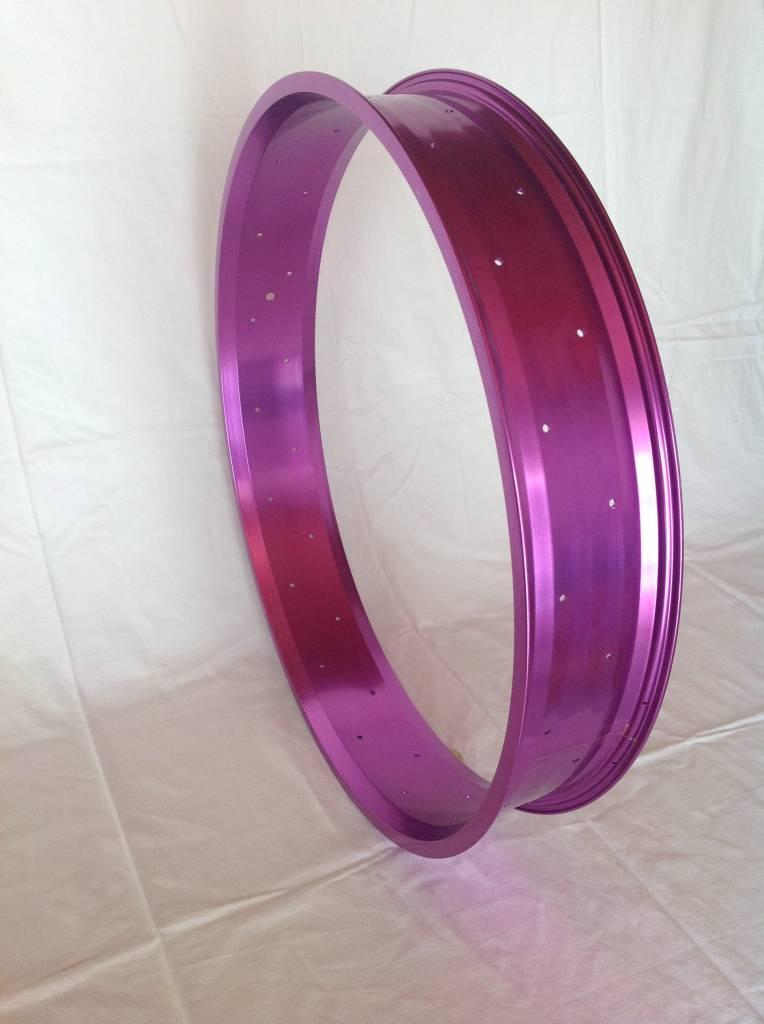 """alloy rim RM100, 26"""", purple anodized"""