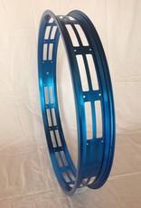 """cut-out rim RM80, 26"""", blue anodized, 32 spoke holes"""