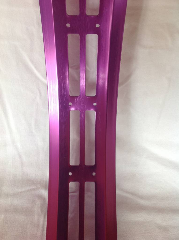 "cut-out rim RM100, 26"", purple anodized, 32 spoke holes, square"