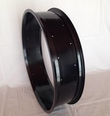 "alloy rim RM130, 24"", black anodized"