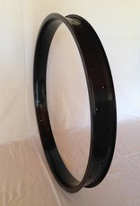 "alloy rim DW65, 28"", black anodized"