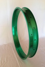 "alloy rim DW80, 26"", green anodized"