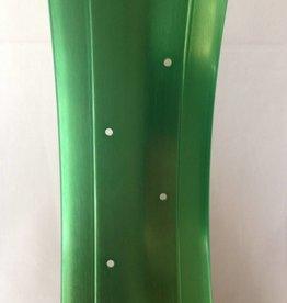 "alloy rim DW100, 26"", green anodized"