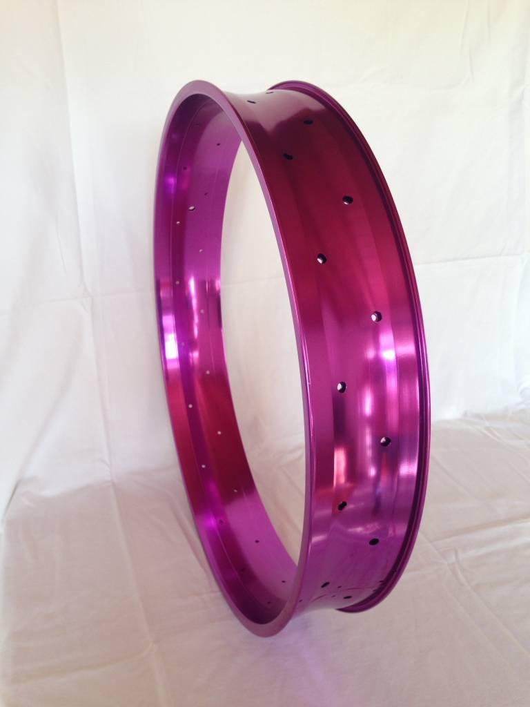 """alloy rim DW100, 26"""", purple anodized"""