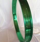 "alloy rim RM65, 26"", green anodized"