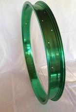 """Alufelge RM65, 26"""", grün eloxiert"""