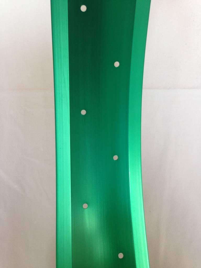 """Alufelge RM80, 26"""", grün eloxiert"""