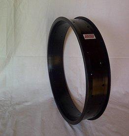 "alloy rim DW100, 24"", black anodized"