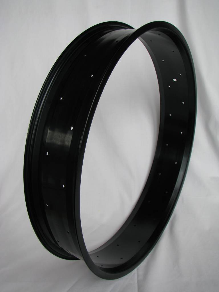 "alloy rim RM100, 28"", black anodized"