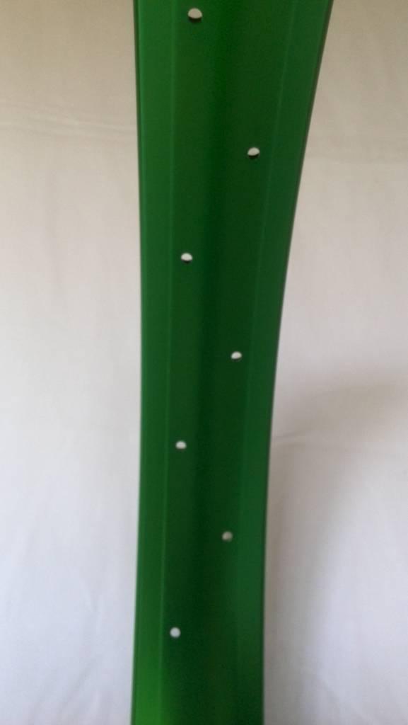 "Alufelge DW65, 24"", grün eloxiert"