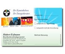 """Kesselaufkleber """"Kaminkehrer"""" mit Eindruck"""
