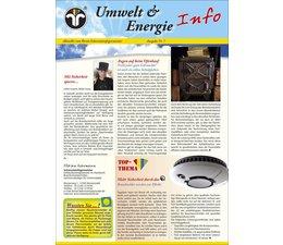 """Umwelt & Energie Info 7 """"Heizen mit Holz, Rauchwarnmelder"""""""