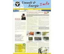 Umwelt & Energie Info 8 Version 1 Co-Melder, Wartung Gas Therme, EnEV 2014, Energiespartipps