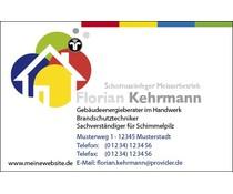 Visitenkarten 1-seitig - individuell gestaltet