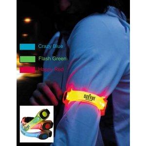 Neon-LED-Armband Crazy Blue
