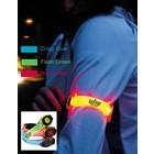 Neon-LED-Armband Flash Green