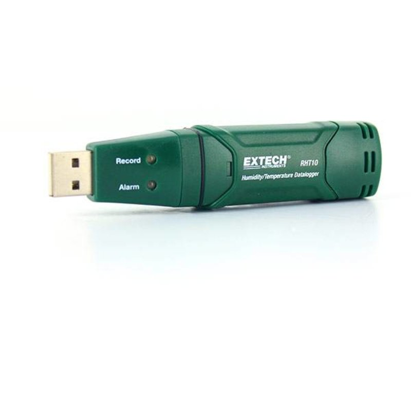EXTECH RHT10 USB Moisture and temperaturelogger