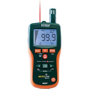 EXTECH MO297 Vochtmeter met IR Thermometer