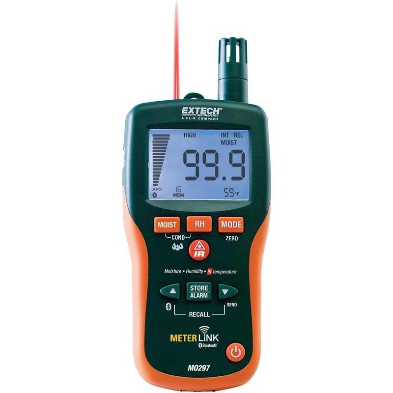 EXTECH MO297 Vochtmeter met IR Thermometer