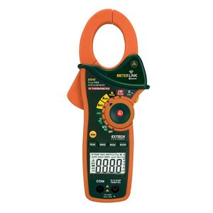 EXTECH EX845: Clampmeter with Bluetooth MeterLink™