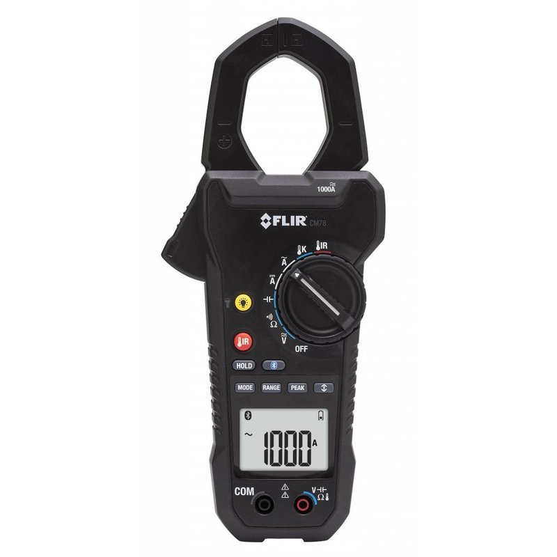 FLIR CM78 1000A Stroomtang + IR temperatuurmeter