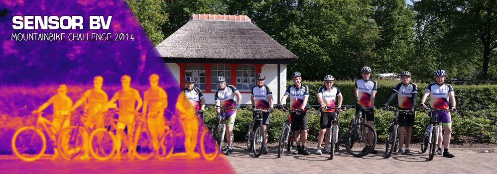 Deelnemers Sensor BV Mountainbike Challenge bedankt!