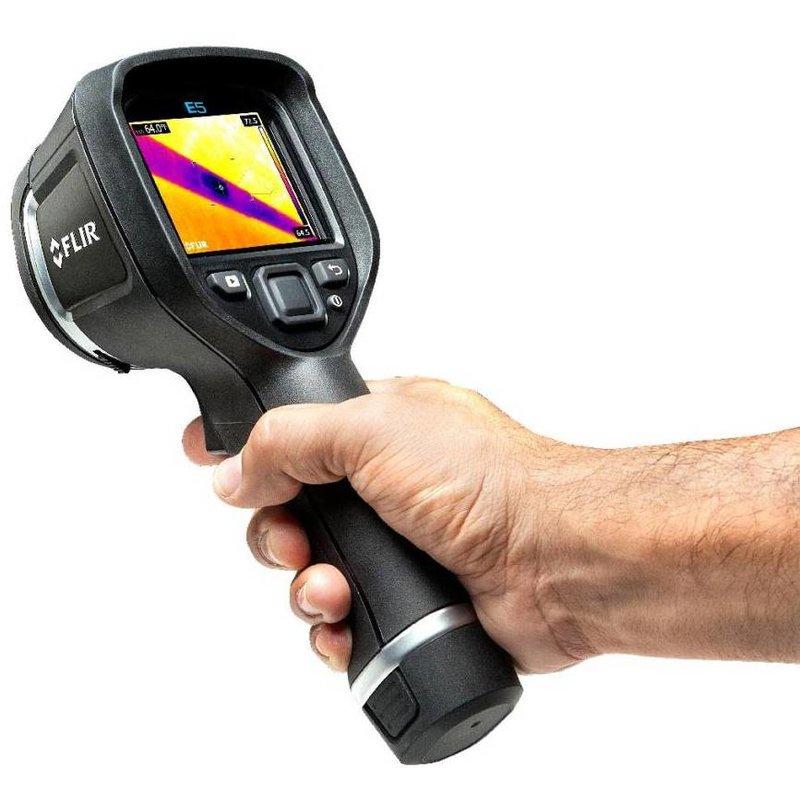 FLIR E5, la caméra thermographique Viser & Capturer de 120 x 90 pixels