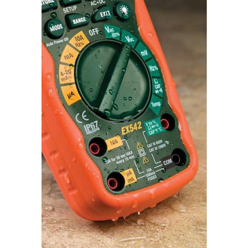 EXTECH EX542 Multimètre True RMS sans fil