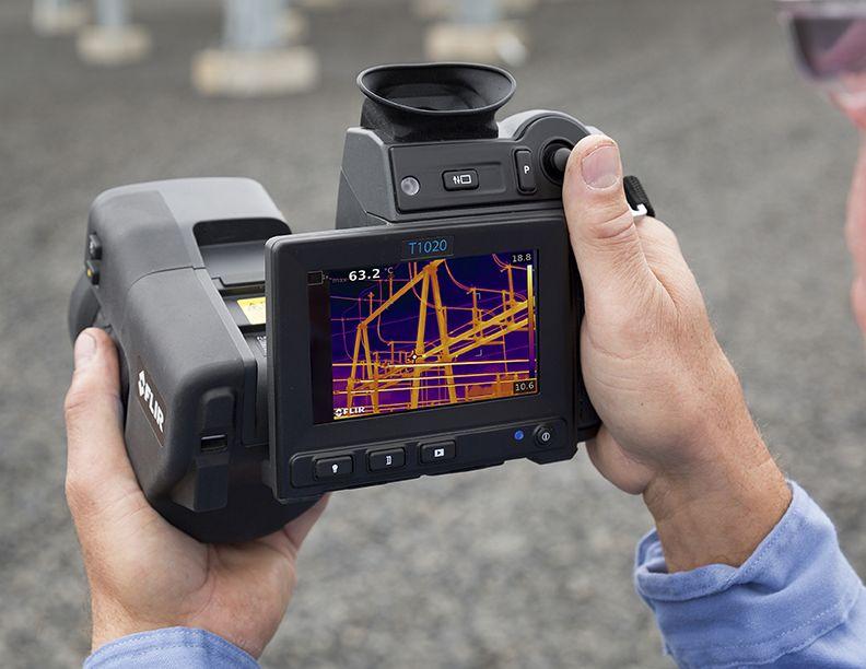 FLIR T1020: Nieuwe High End warmtebeeldcamera
