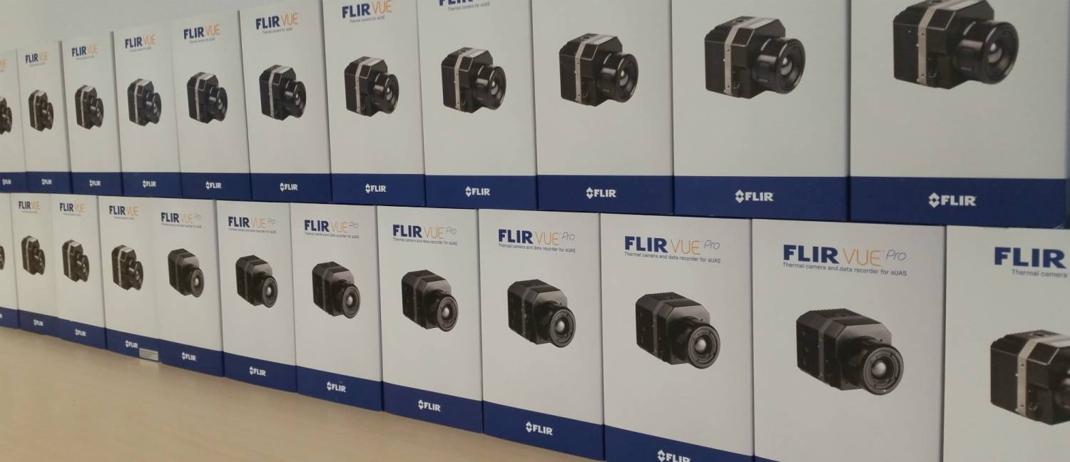 FLIR VUE's have arrived!