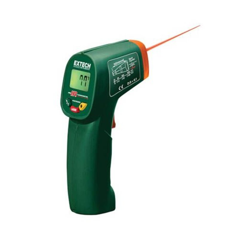 EXTECH Extech 42500 IR Thermometer, Mini