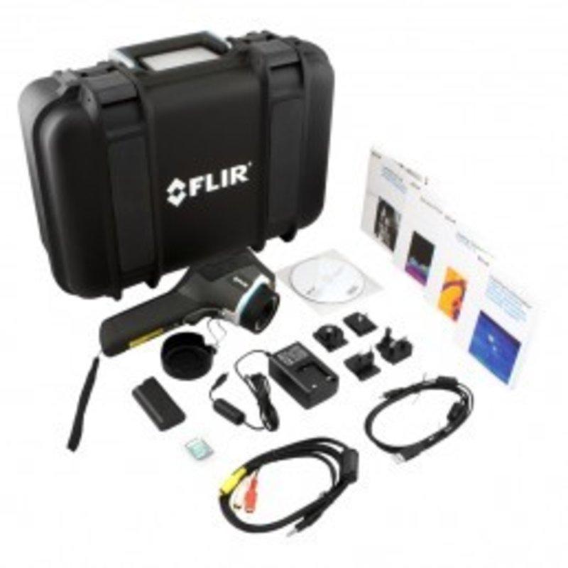 FLIR E40bx pour la thermographie des batîments et CVC (160 x 120 pixels)